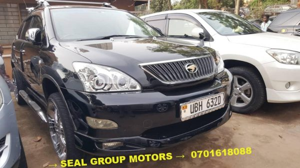 2006 Black Toyota Harrier for Sale at a cheap price in Kampala, Uganda - Seal Group Motors